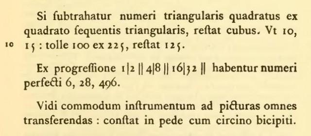 """Página de """"Opuscules"""" de 1619-1621 de René Descartes, en la que aparecen las dos líneas verticales para expresar la igualdad"""