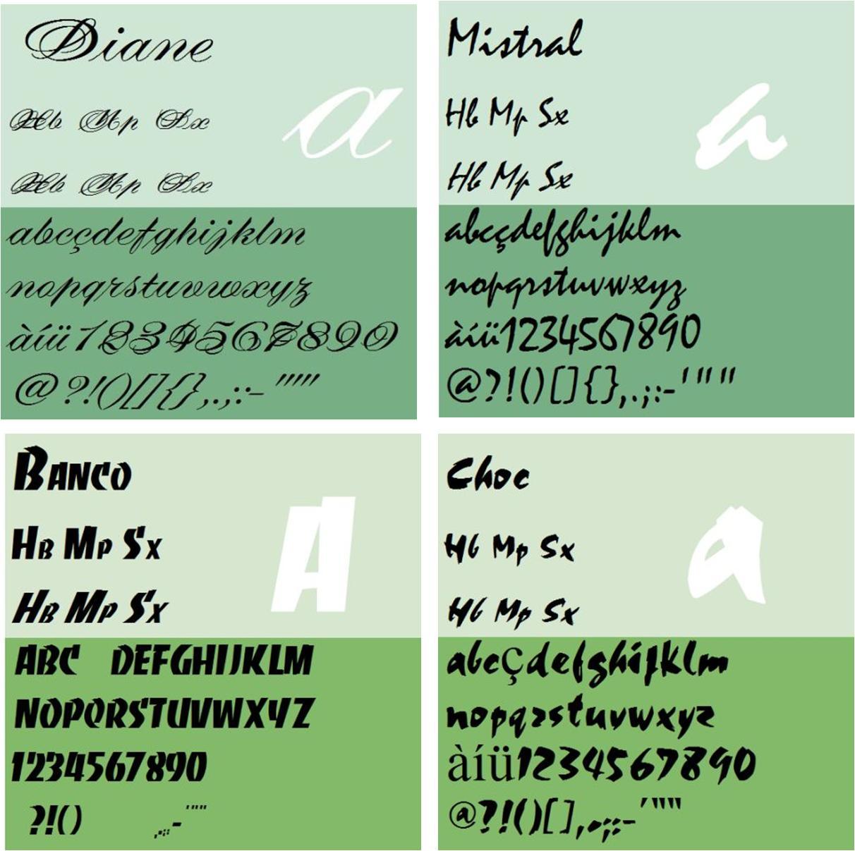 La tipografía de los números (2) - Cuaderno de Cultura Científica