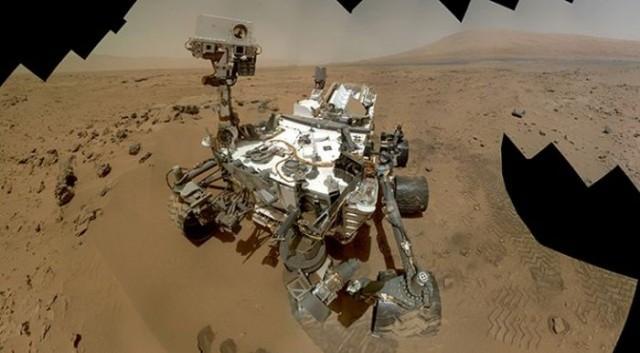 """El Curiosity haciéndose un """"selfie"""" NASA"""