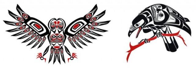 La leyenda del cuervo y el buho, por Biotay