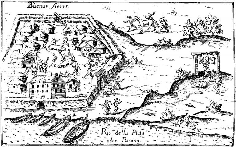 El origen de la primera Buenos Aires