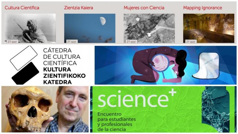 La Cátedra de Cultura Científica en 2015