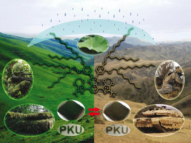 Polímeros conductores, el futuro del camuflaje