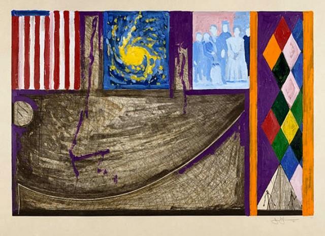 Sin título (2001), Jasper Johns