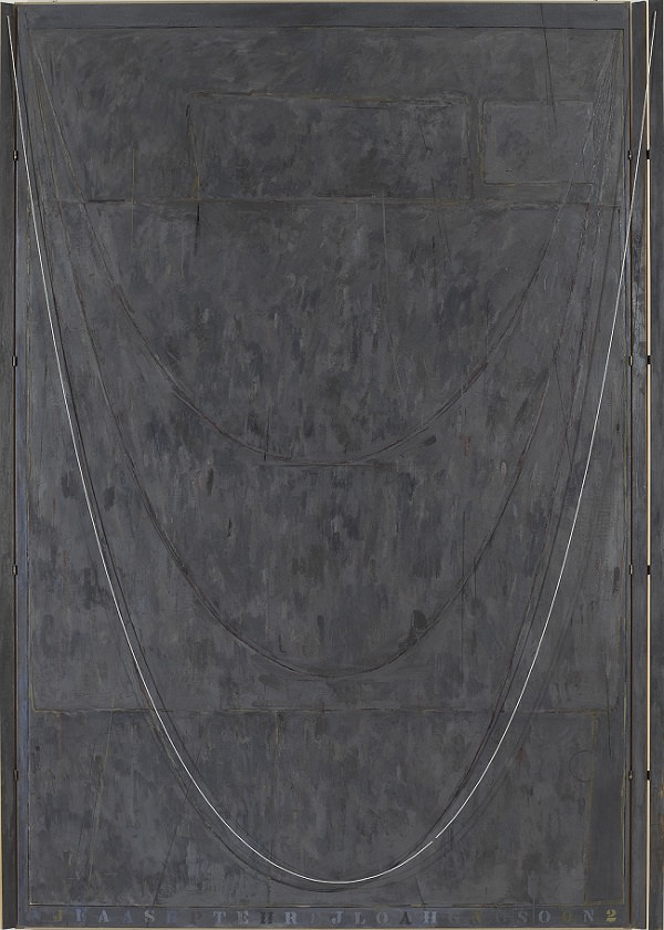 Near the Lagoon (2002-03), Jasper Johns