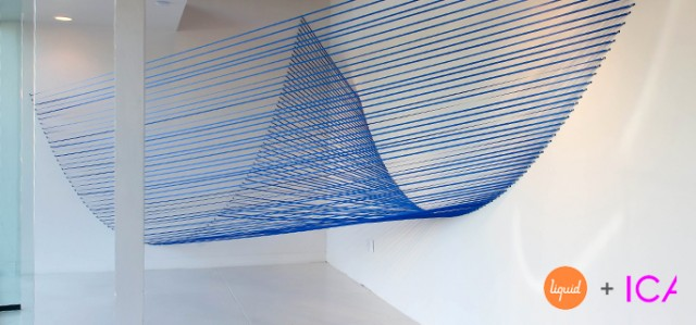 Double Catenary (2013), Sabine Reckewell