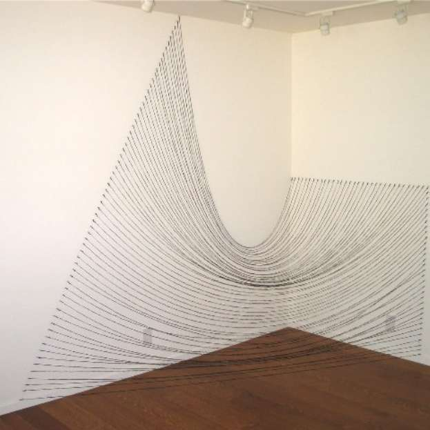 Installation for Black Strings (1980), Sabine Reckwell
