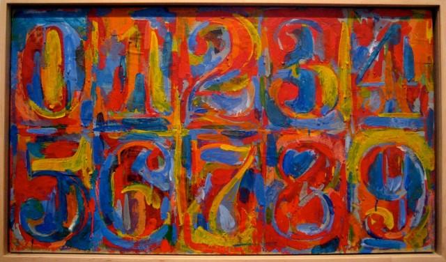 0-9 (1959), Jasper Johns