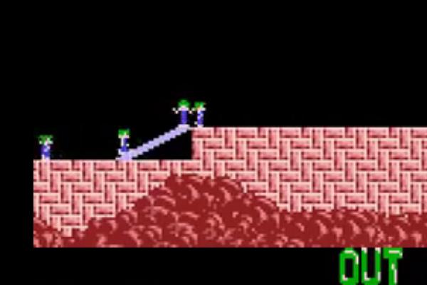 Lemmings escaleras