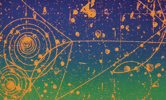 Trayectorias de las partículas cargadas en un campo magnético
