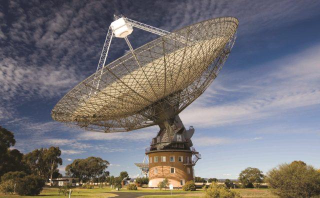 Radiotelecopio de Parkes, en Australia (www.csiro.au).