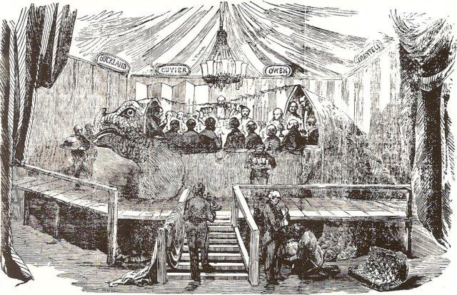 El banquete del iguanodón