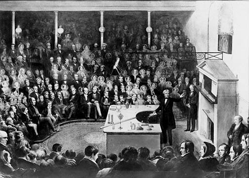 Resultado de imagen de faraday conferencia