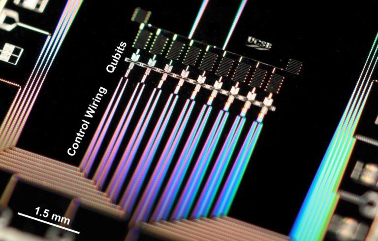 Digitalización universal de la computación cuántica analógica en un chip superconductor