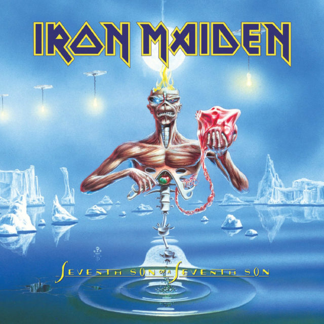 Portada del álbum de Iron Maiden Seventh son of a seventh son (1988)