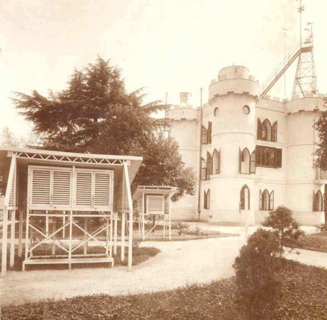 El Castillo, sede primitiva del Servicio Metereológico español