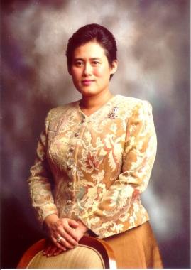 S.A.R la princesa Maha Chakkri Sirinthon de Tailandia