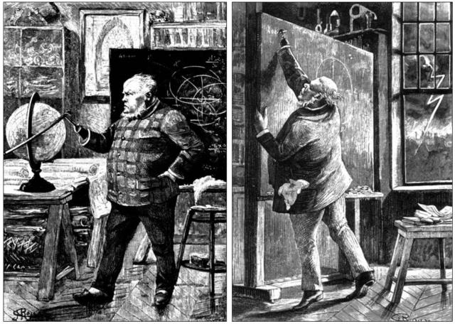 J.-T. Maston (dibujo de George Roux).