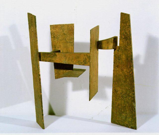 Estudio del Peine del Viento I, Chapa de hierro, Eduardo Chillida Juantegui, 1968