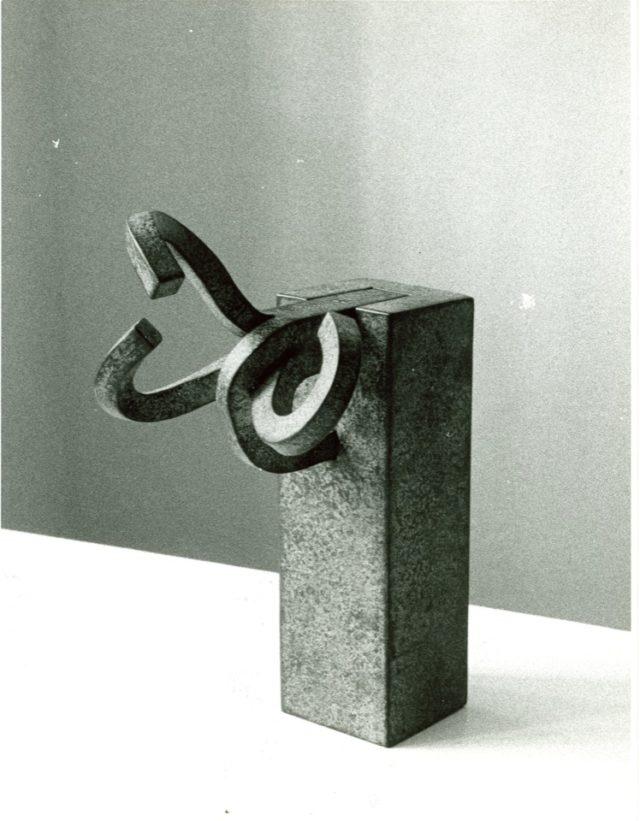 Estudio Peine del Viento IX Hierro Eduardo Chillida Juantegui, 1974