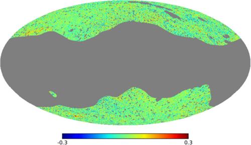 Anisotropías en el fondo cósmico de infrarrojo.