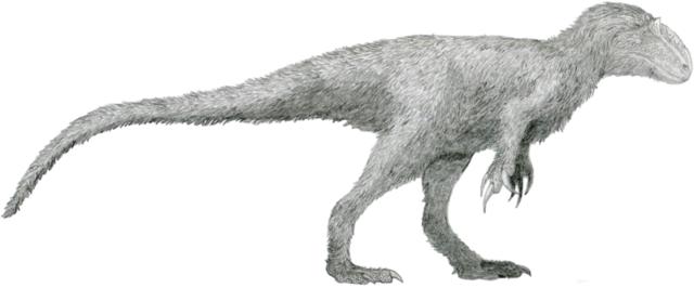 Yutyrannus, por Tomopteryx