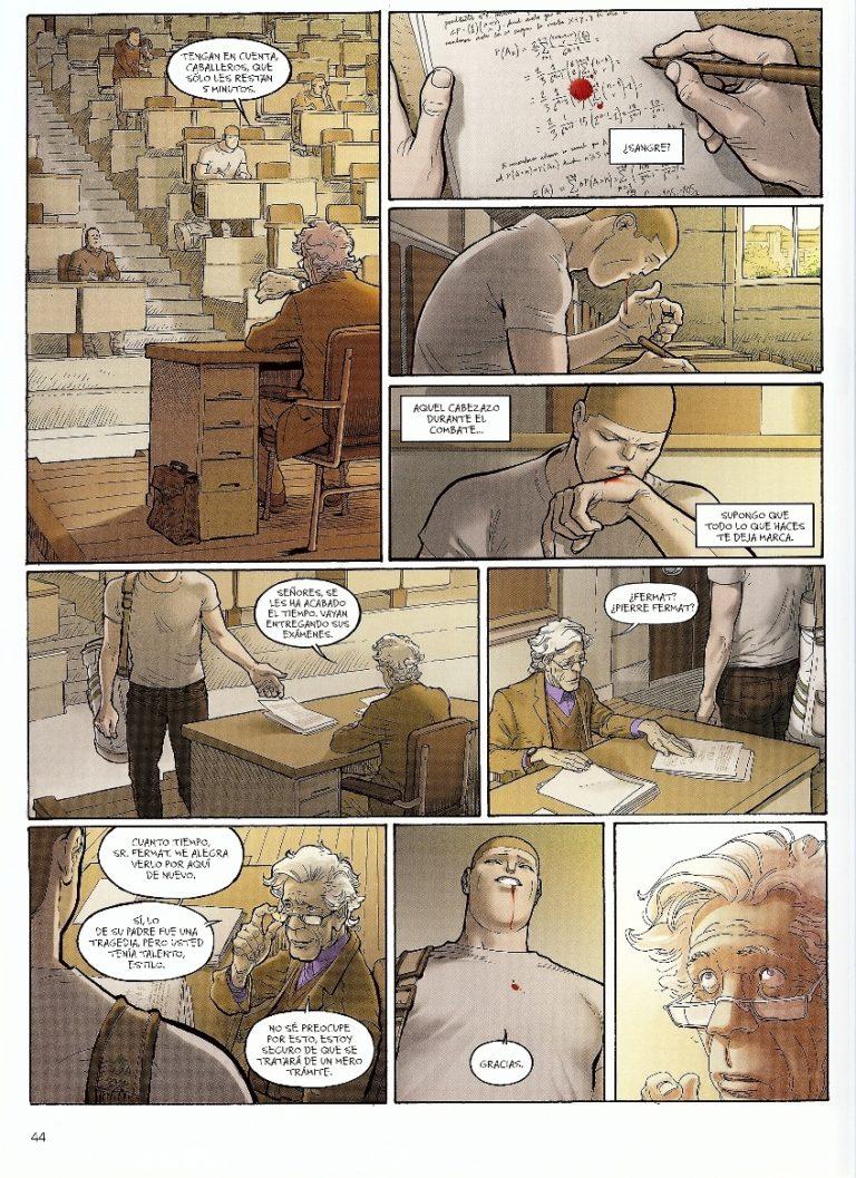 Las matemáticas en el cómic Ken Games