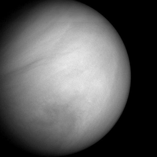 La sonda Messenger retrató a Venus en su camnio hacia Mercurio