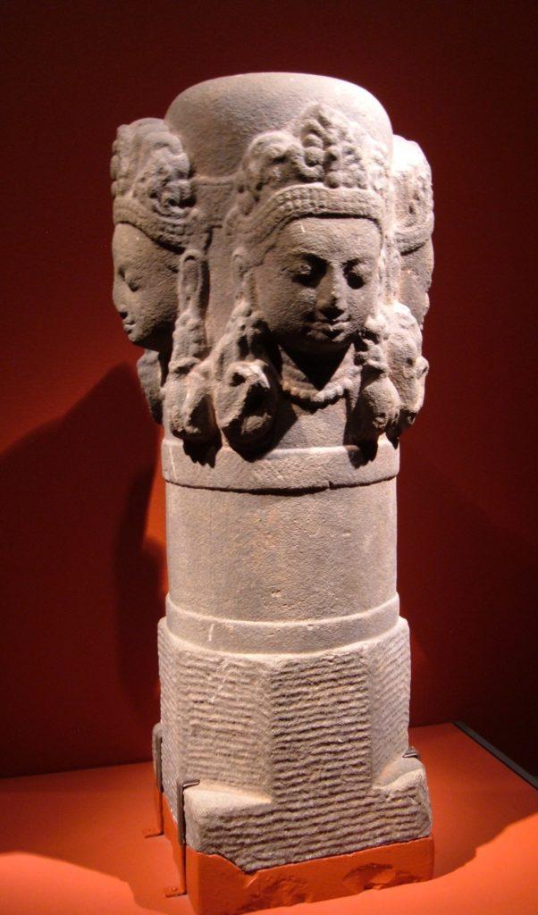 """""""Lingam"""" de Shiva nepalí hecho de piedra"""