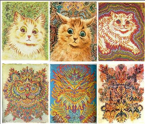 Imágenes de gatos de Luis Wain