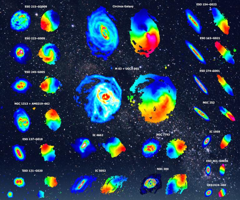 El hidrógeno en el Universo (V):  Cartografiando las galaxias en hidrógeno atómico