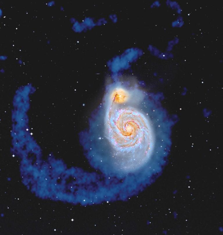 El hidrógeno en el Universo (IV):  Galaxias en interacción