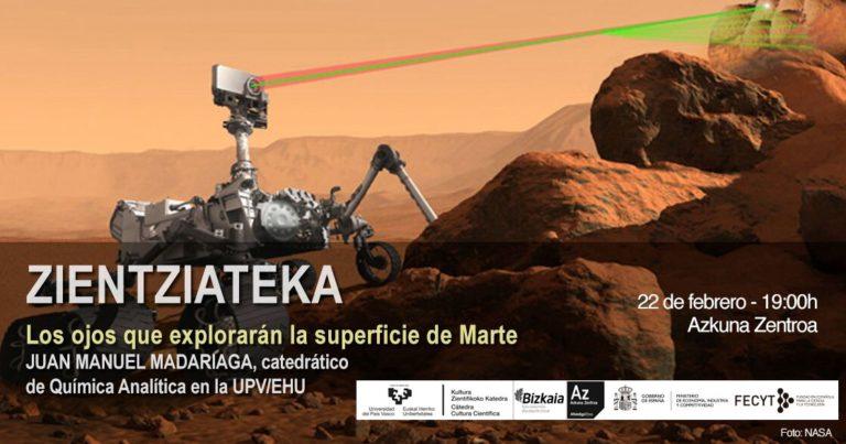 Los ojos que explorarán la superficie de Marte