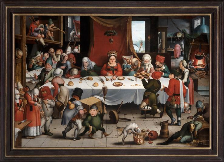 Festín burlesco, una visita al alma del museo