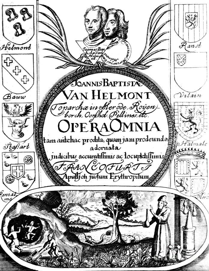 Los cimientos de la química neumática al estilo van Helmont (y 3)