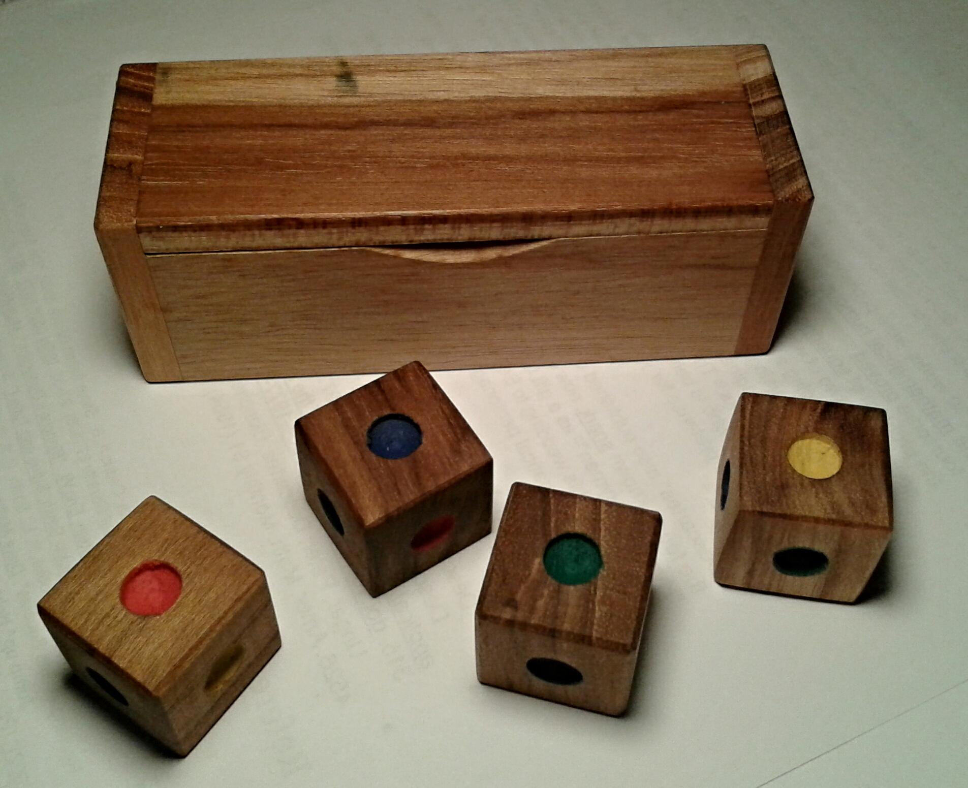 Locura instantánea, un rompecabezas con cubos de colores — Cuaderno ...