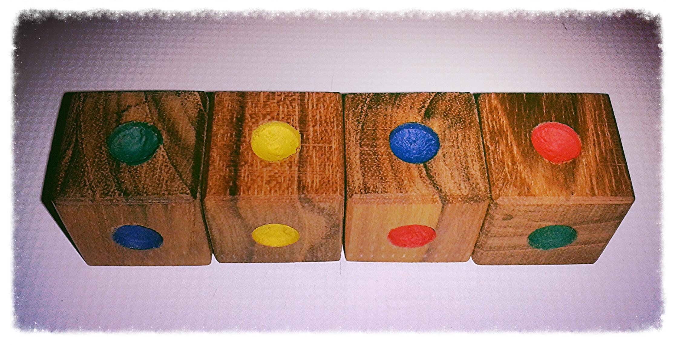 Locura Instantánea Un Rompecabezas Con Cubos De Colores Cuaderno