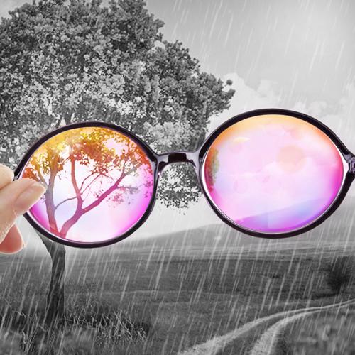 Un alelo para las gafas de color de rosa