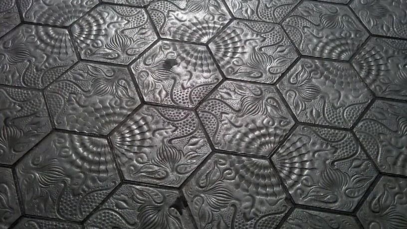 Mosaicos hexagonales para el verano cuaderno de cultura cient fica - Baldosas hexagonales ...
