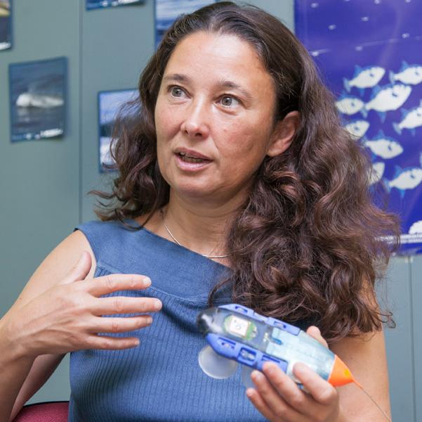 """Natacha Aguilar: """"Necesitamos que el mar esté en equilibrio para que el planeta también lo esté"""""""