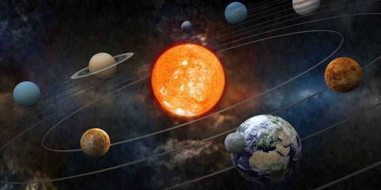 Los planetas solares