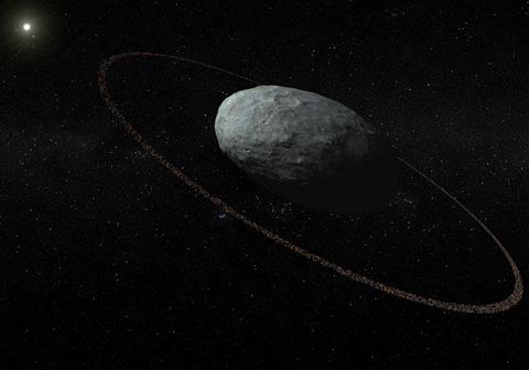 El planeta enano Haumea tiene anillo