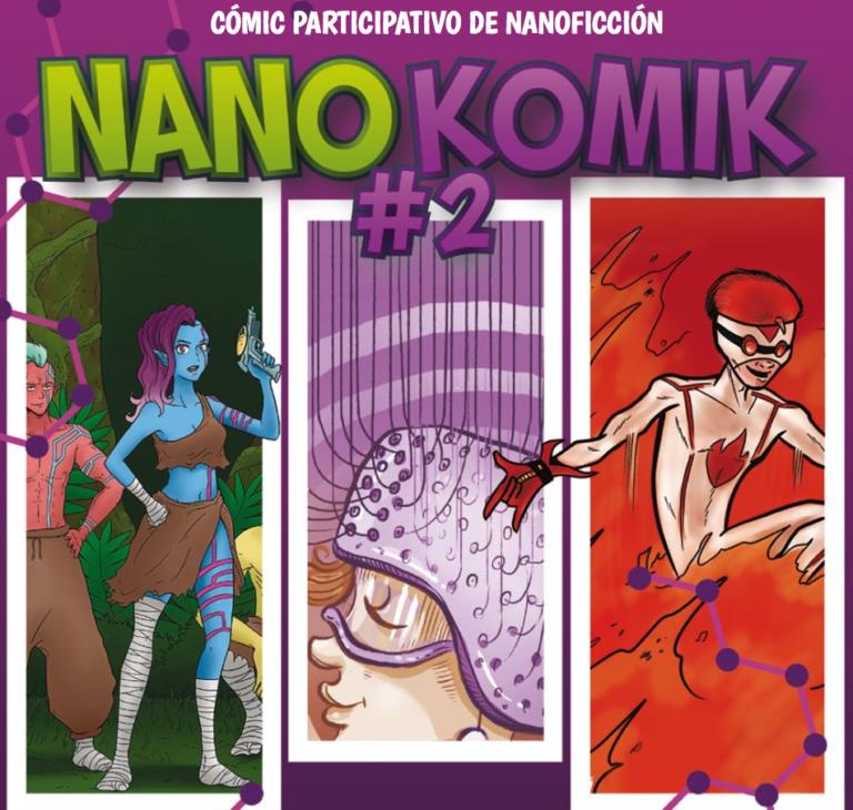 Nanokomik#2, cómic participativo de nanoficción