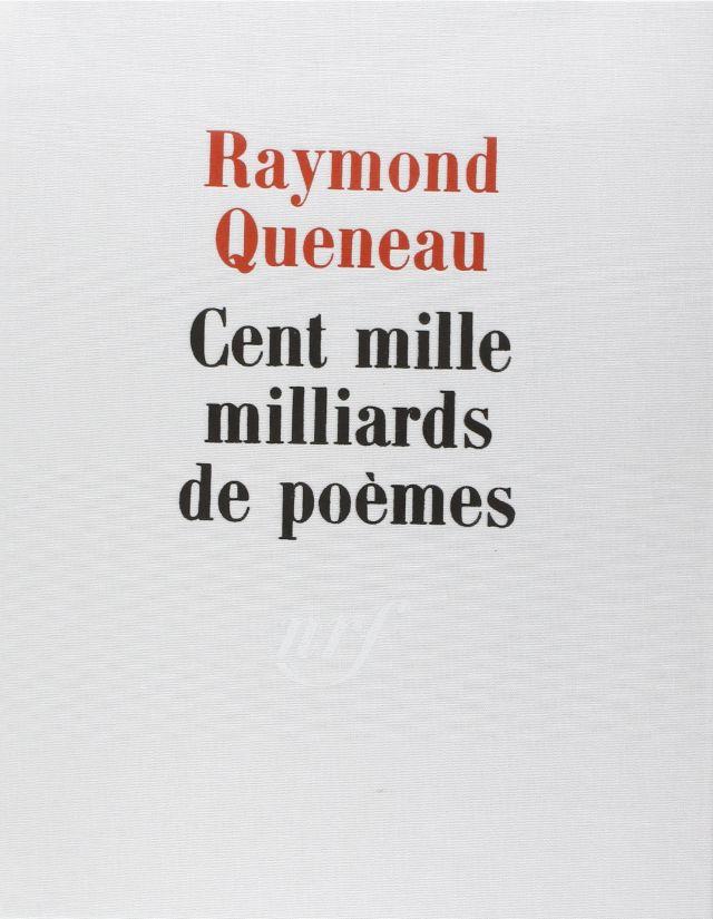 100 000 000 000 000 poemas