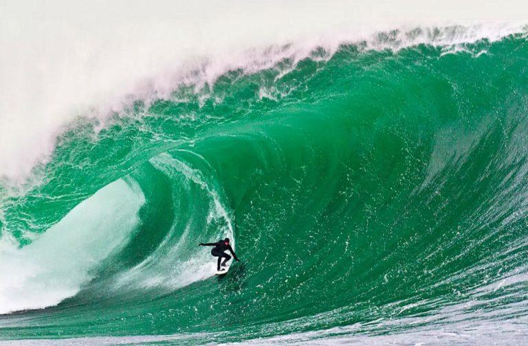 La energía de las olas ha aumentado un 40 % en el último siglo.