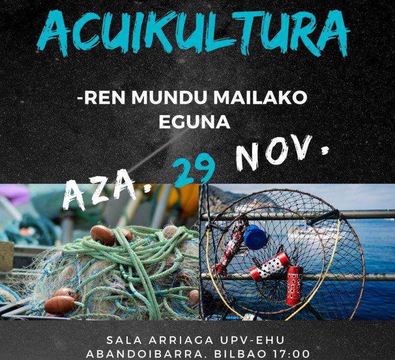 Jornada: Día Mundial de la AcuiKultura