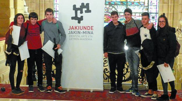 Comienza Jakin-mina, el programa de conferencias para estudiantes de 4 de ESO