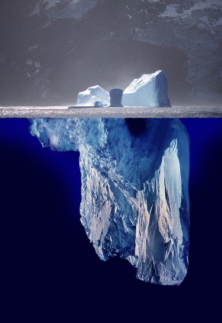 ¿Quién se encuentra en el lado oculto del iceberg?
