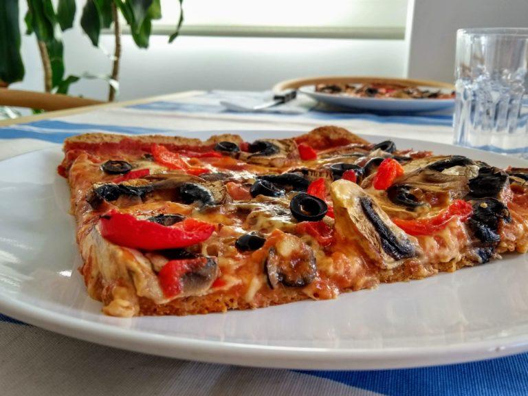 Así es la química de una buena pizza