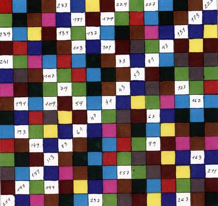 El poema de los números primos
